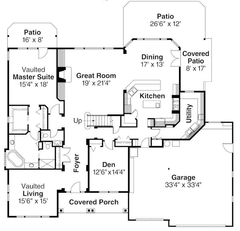 First Floor Floor Plan for Balentine