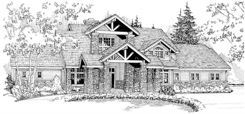 Main Elevation for Timberfield