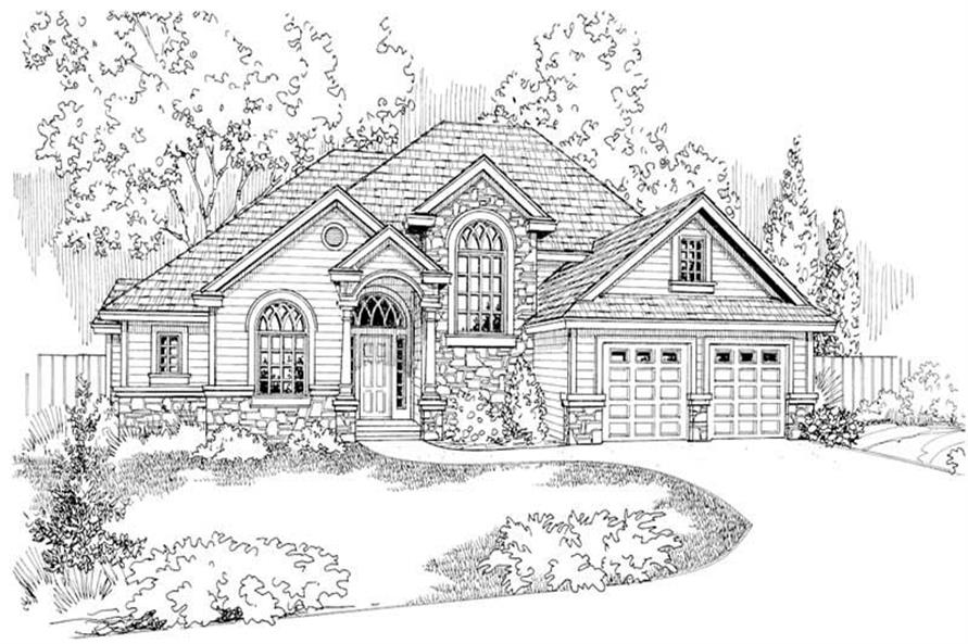Home Plan Other Image of this 3-Bedroom,2609 Sq Ft Plan -108-1162