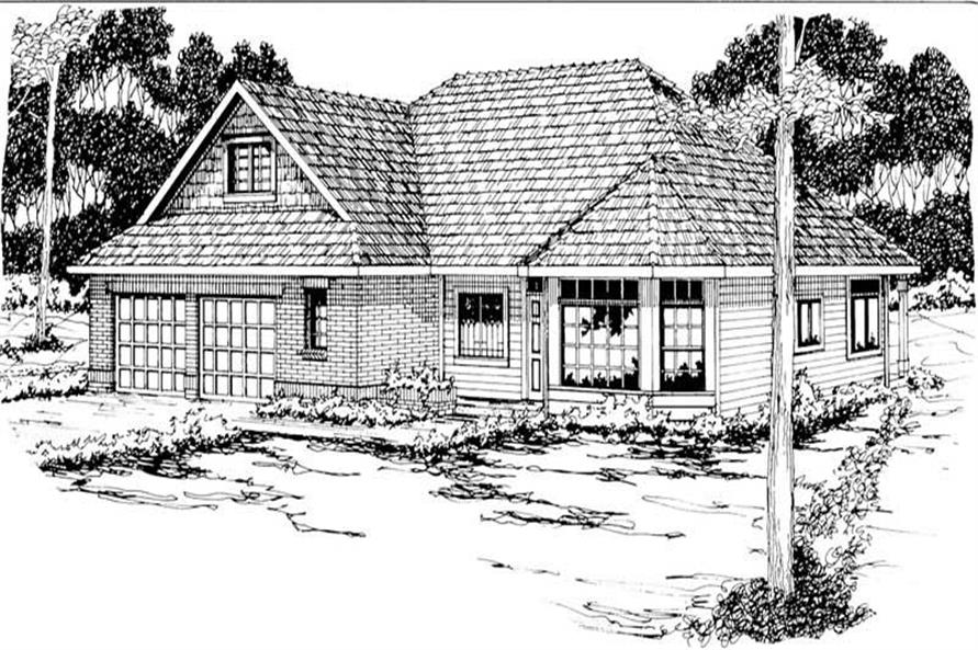 Main image for house plan # 3014