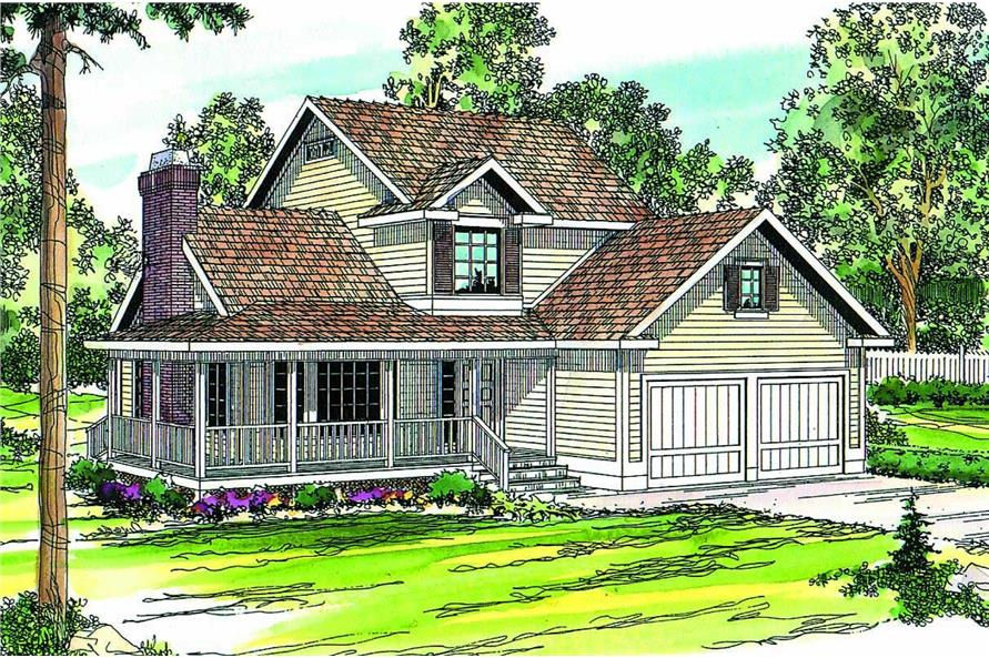 Main image for house plan # 2890