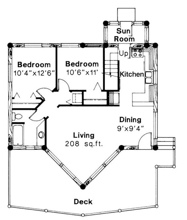 First Floor Floor Plan for Sylvan