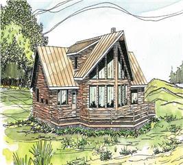 House Plan #108-1171