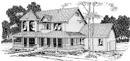 Main image for house plan # 3012