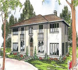 House Plan #108-1178
