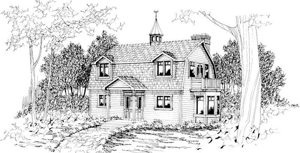 Main image for house plan # 3030