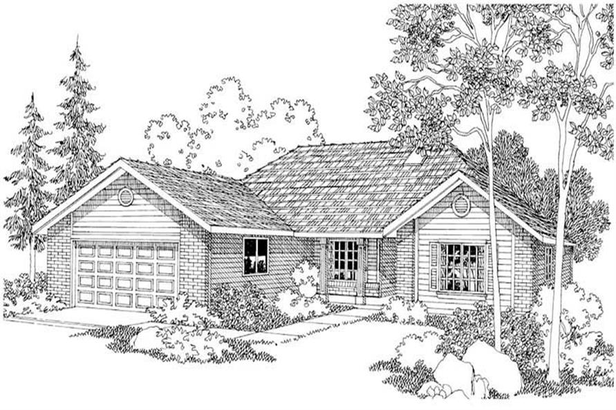 Main image for house plan # 3032