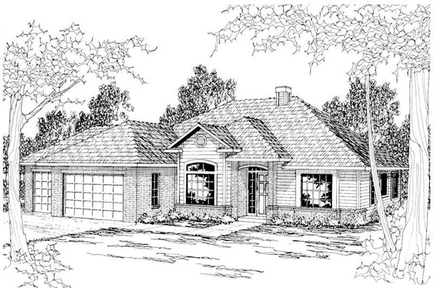 Main image for house plan # 3034