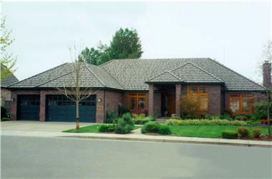 3-Bedroom, 2684 Sq Ft Contemporary Home Plan - 108-1185 - Main Exterior