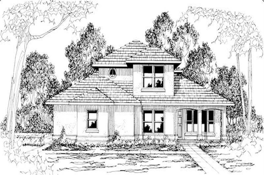 Main image for house plan # 3036