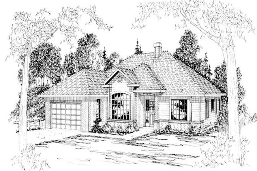 Main image for house plan # 3026