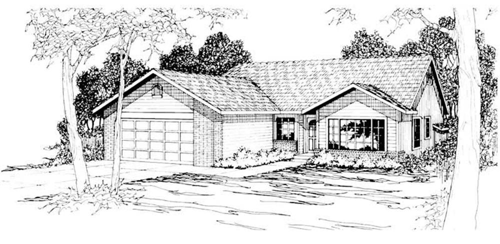 Main image for house plan # 3038