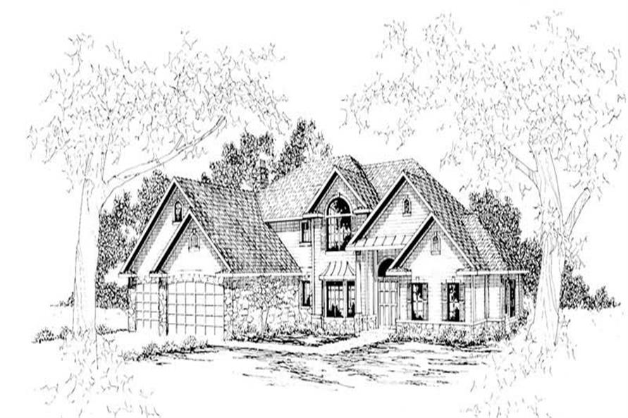 Main image for house plan # 3042