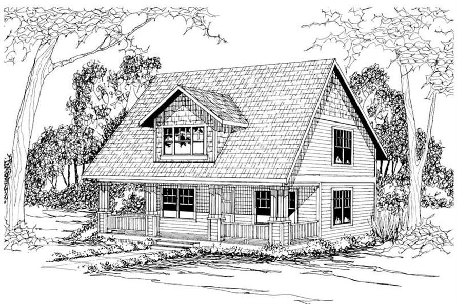 Main image for house plan # 3035