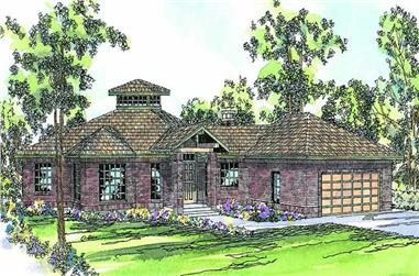 Main image for house plan # 2885