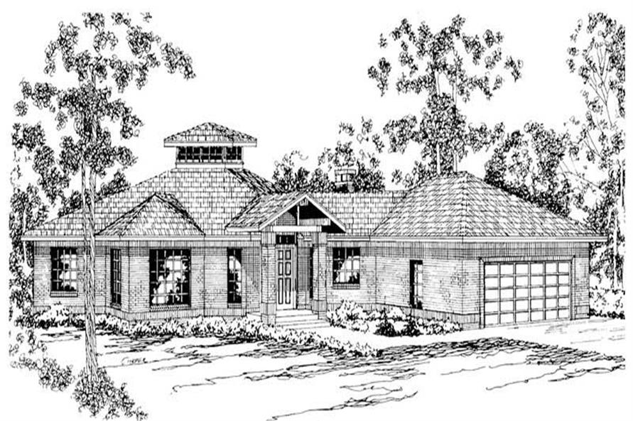 Home Plan Other Image of this 3-Bedroom,2417 Sq Ft Plan -108-1201