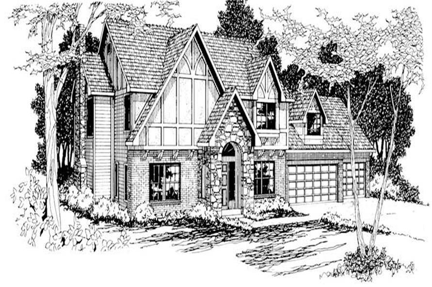 Main image for house plan # 3013