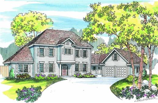 Main image for house plan # 2970