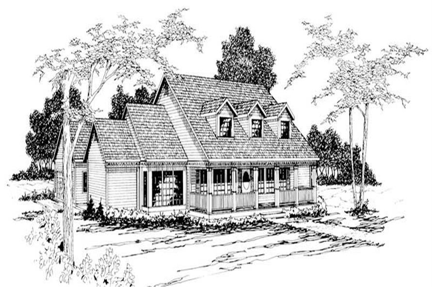 Main image for house plan # 3007