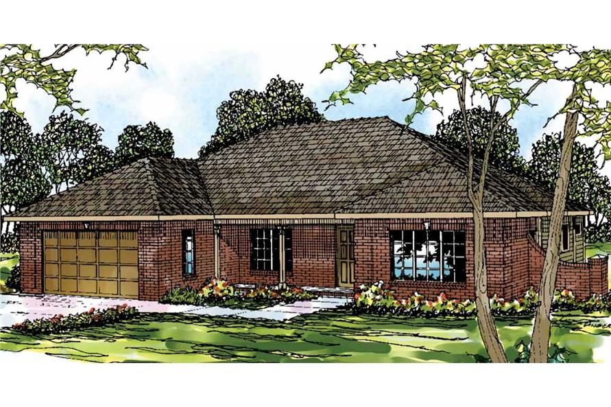 Main image for house plan # 3019