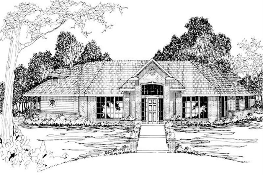 Main image for house plan # 3020