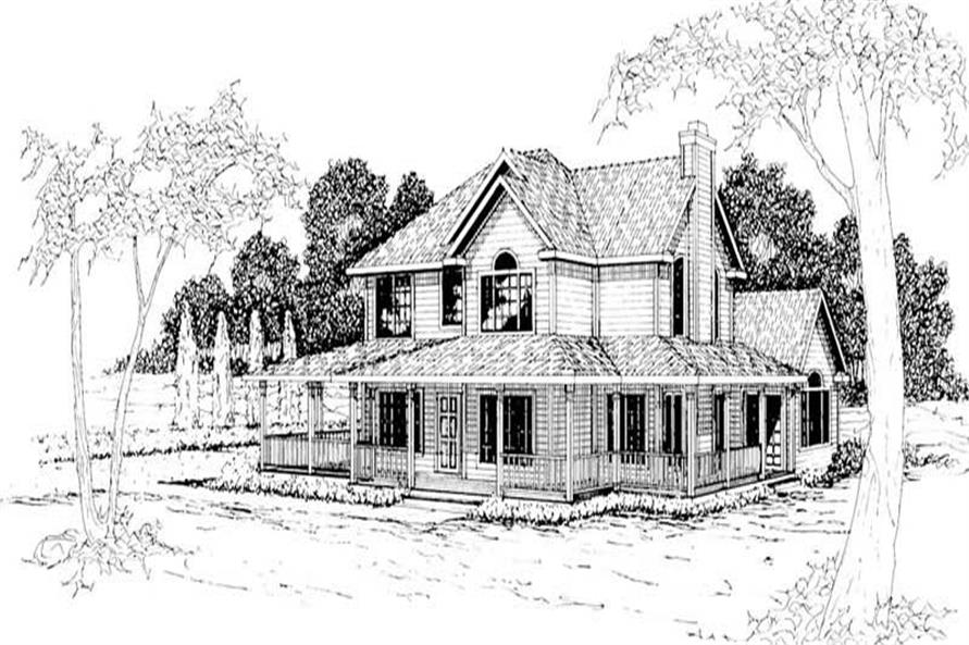 Main image for house plan # 3024