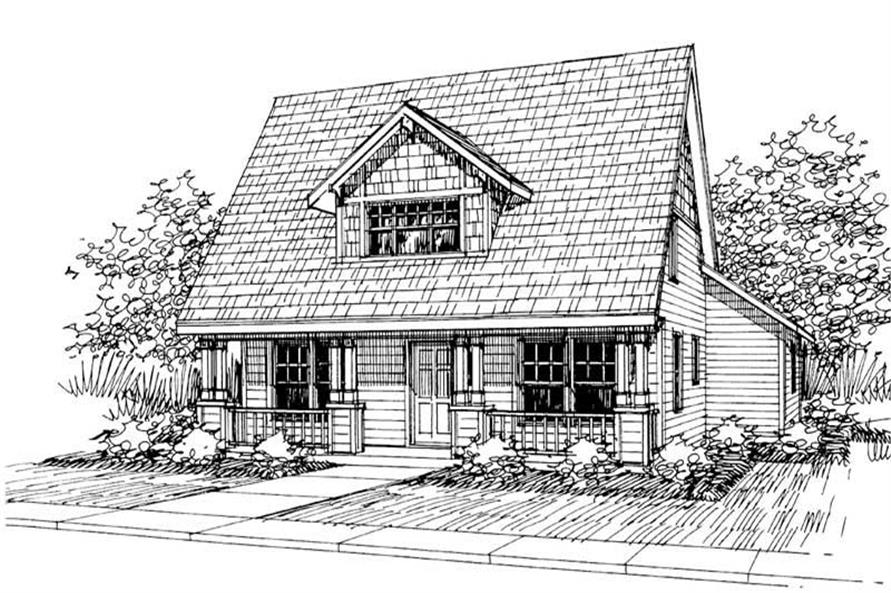 Main image for house plan # 3046