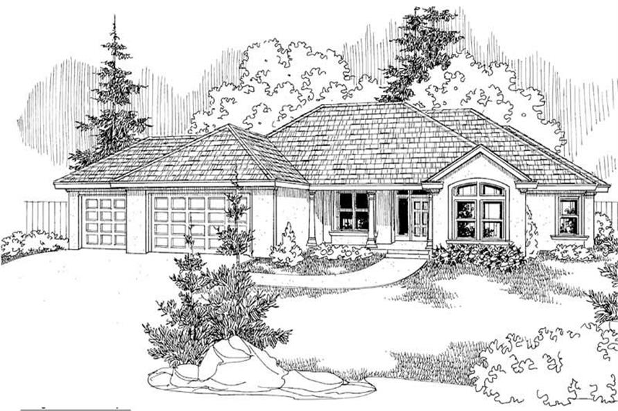 Home Plan Other Image of this 5-Bedroom,2507 Sq Ft Plan -108-1219