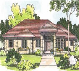 House Plan #108-1222