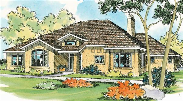 Main image for house plan # 2914