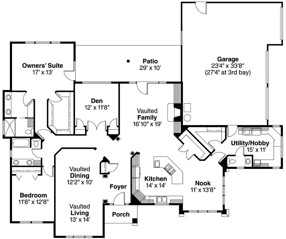 Floor Plan First Story