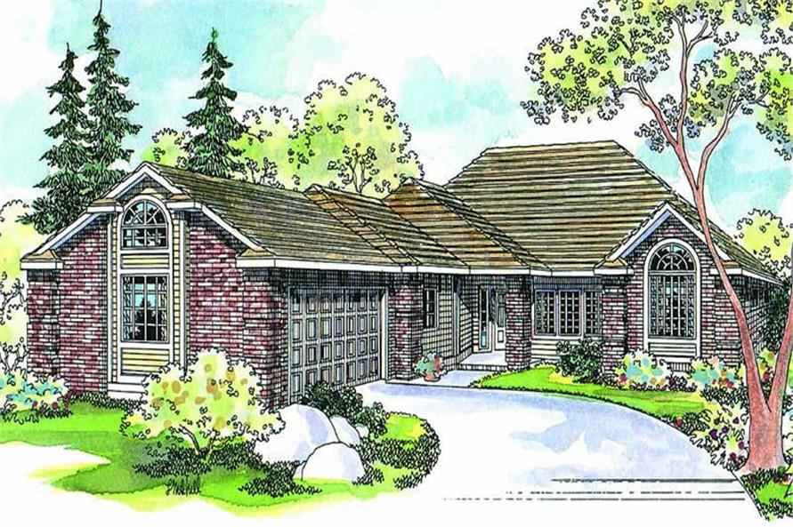 Main image for house plan # 2908