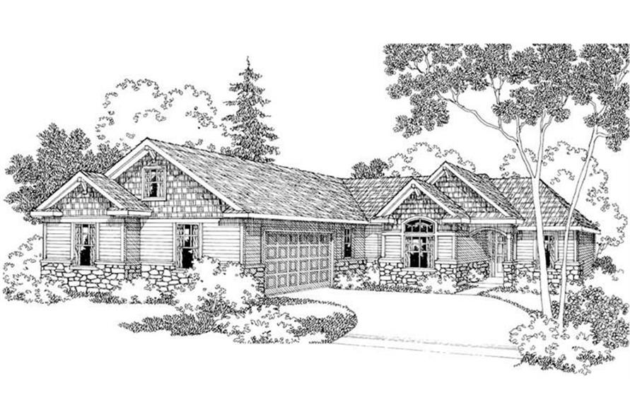 108-1228: Home Plan Rendering