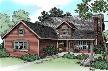 3-Bedroom, 3071 Sq Ft Country Home - Plan #108-1229 - Main Exterior