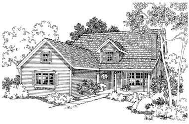Country 45 55 ft wide 85 95 ft deep house plans for 55 wide house plans