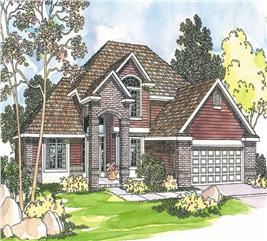 House Plan #108-1230