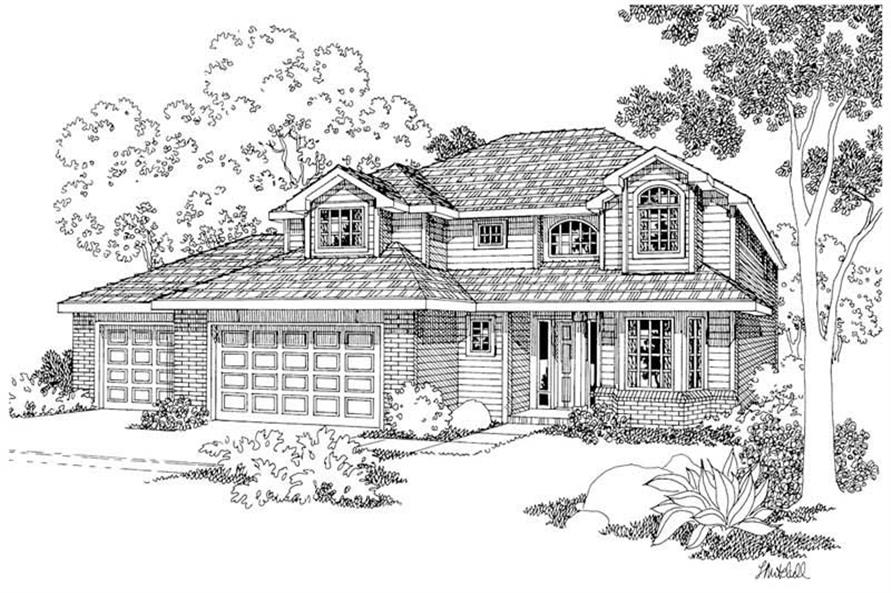 Main image for house plan # 2906
