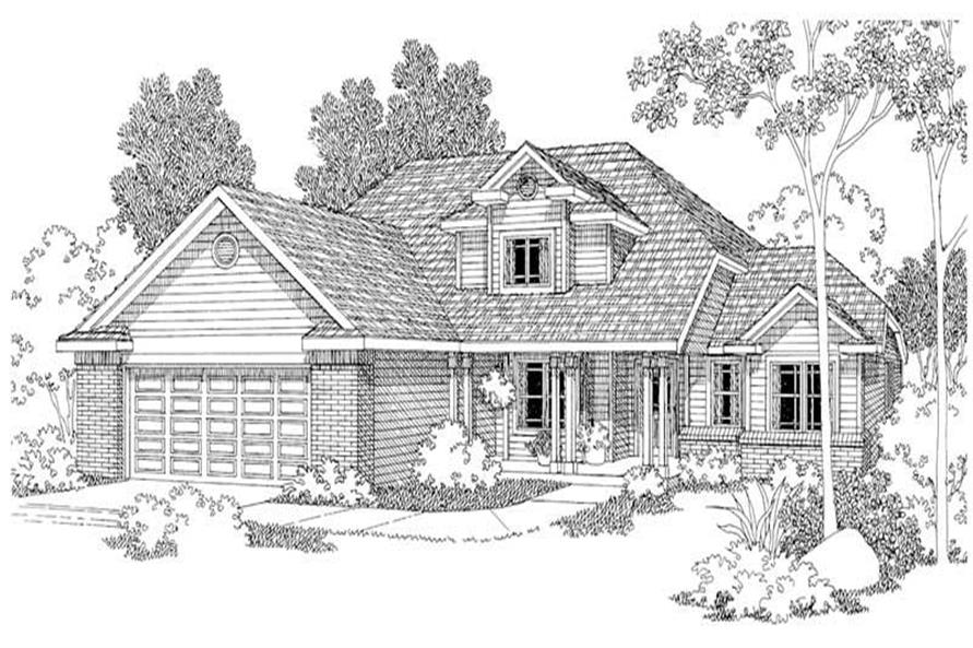 Main image for house plan # 2947