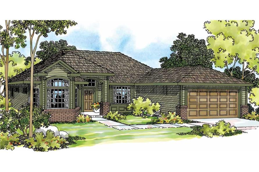 Main image for house plan # 2948