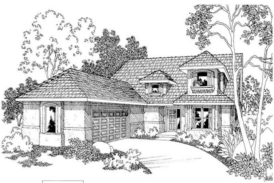 Main image for house plan # 3084