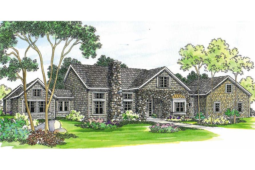 Main image for house plan # 2928