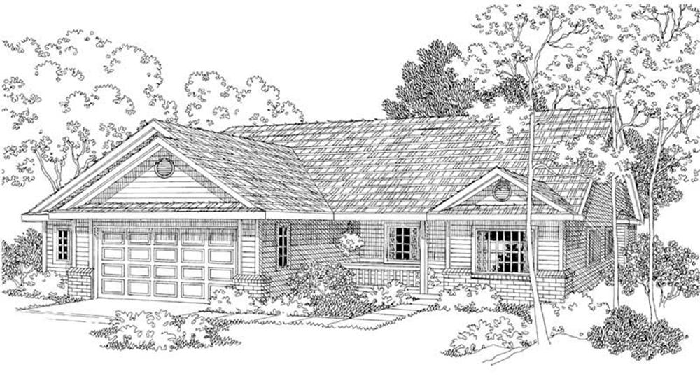 Main image for house plan # 2952