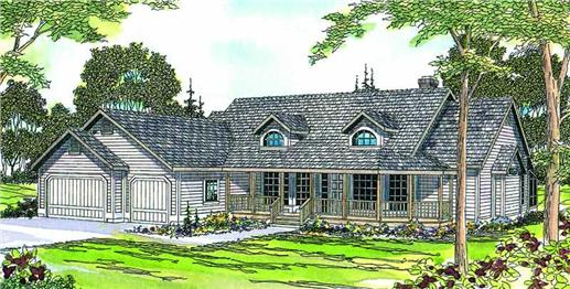 Main image for house plan # 2896