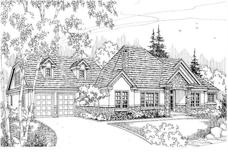 Home Plan Other Image of this 5-Bedroom,4159 Sq Ft Plan -108-1264