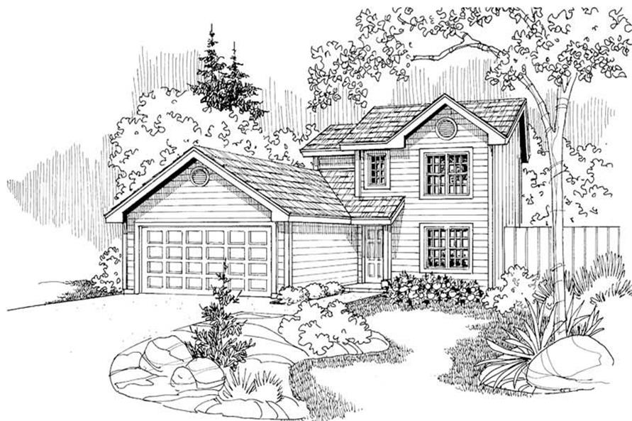 Home Plan Other Image of this 4-Bedroom,1419 Sq Ft Plan -108-1271