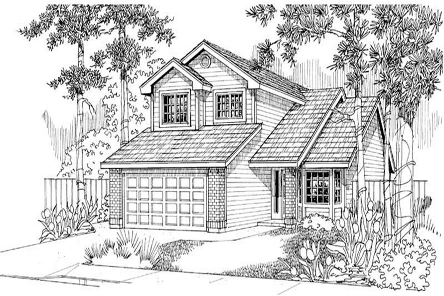Main Elevation for Knollwood