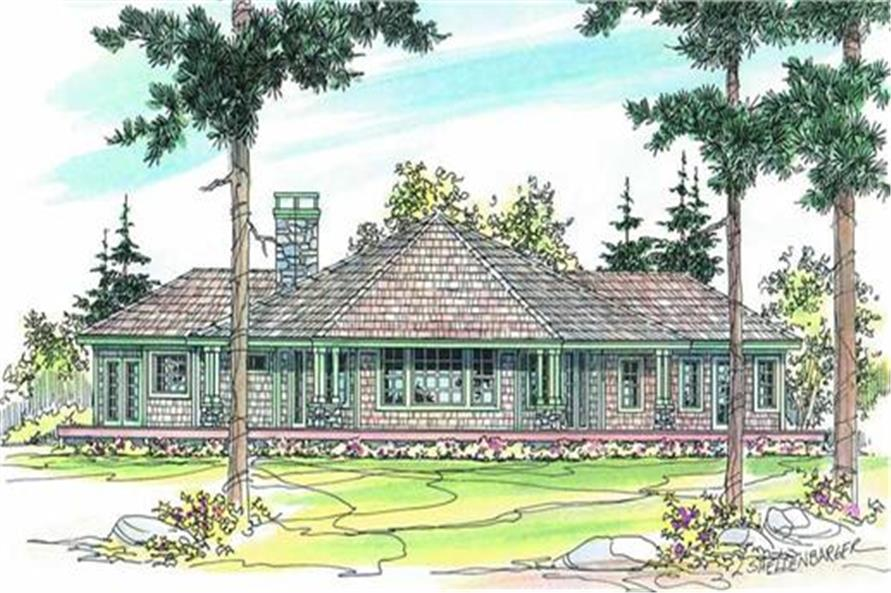 Deck of this 3-Bedroom,2191 Sq Ft Plan -2191