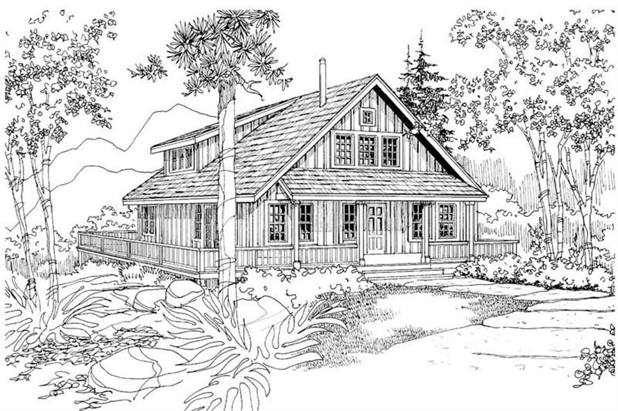 Home Plan Other Image of this 3-Bedroom,1749 Sq Ft Plan -108-1275