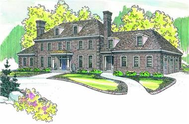 Main image for house plan # 2969