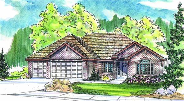 Main image for house plan # 2981